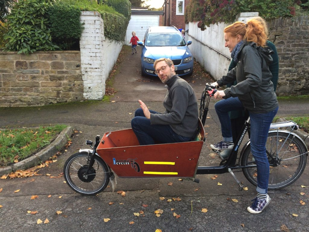 Bakfiets with Hedley